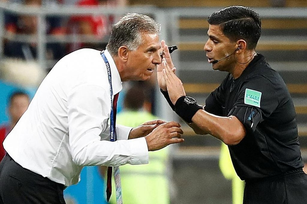 Siku pemain Iran: Ronaldo nasib baik tak kena kad merah