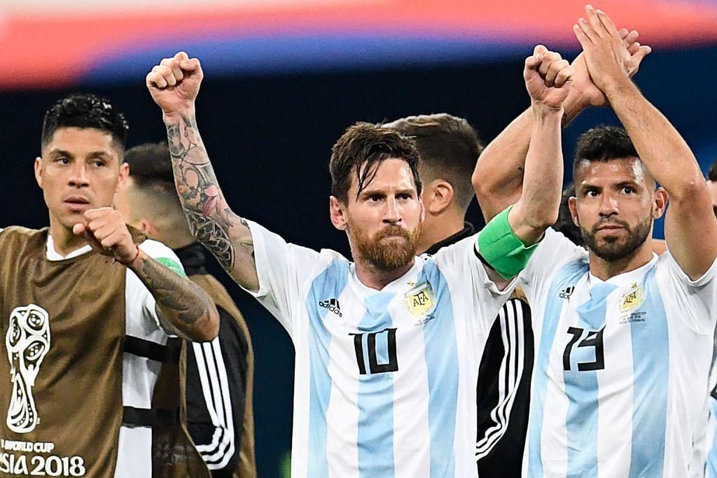 Messi cemerlang pimpin Argentina ke pusingan kedua