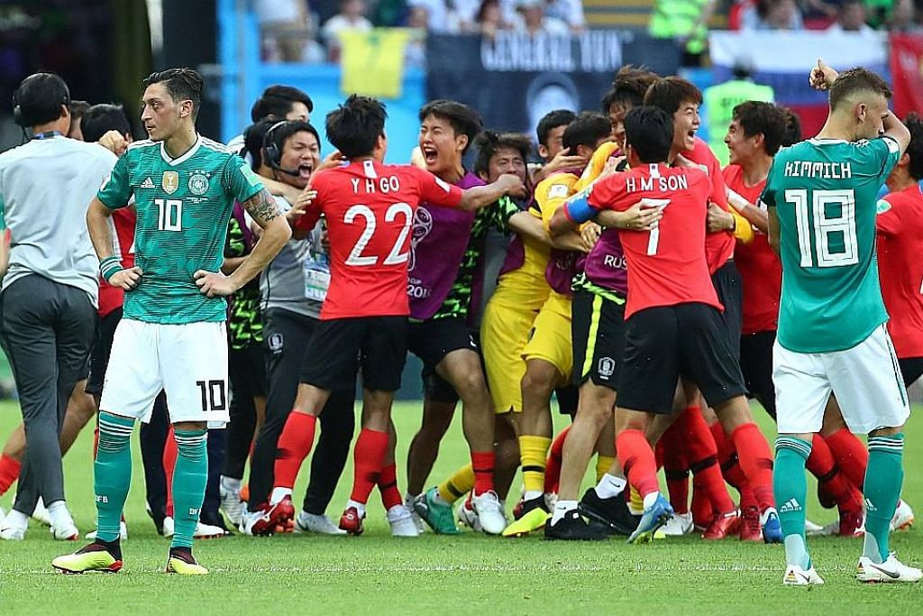Mimpi ngeri Piala Dunia Jerman jadi kenyataan