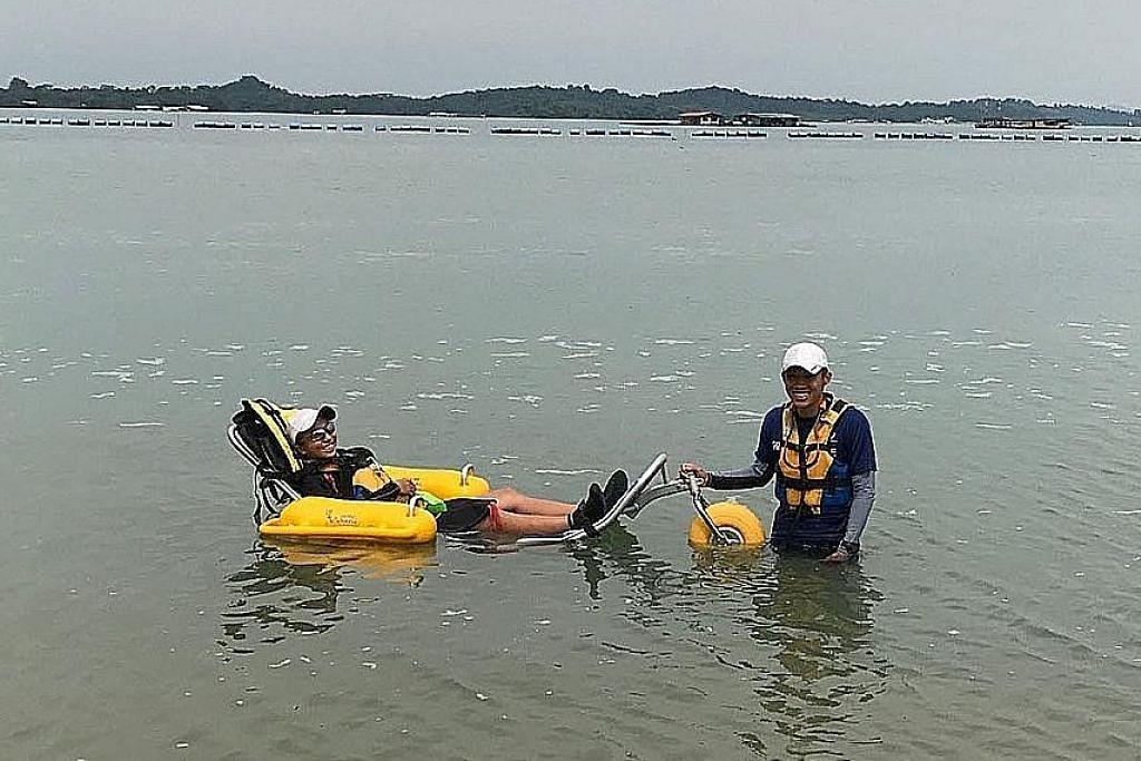 Peluang golongan kurang upaya nikmati aktiviti air