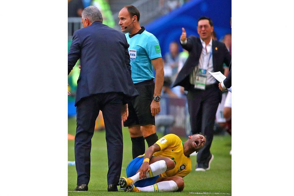 Neymar dikritik ekoran 'lakonan cedera' berlebihan
