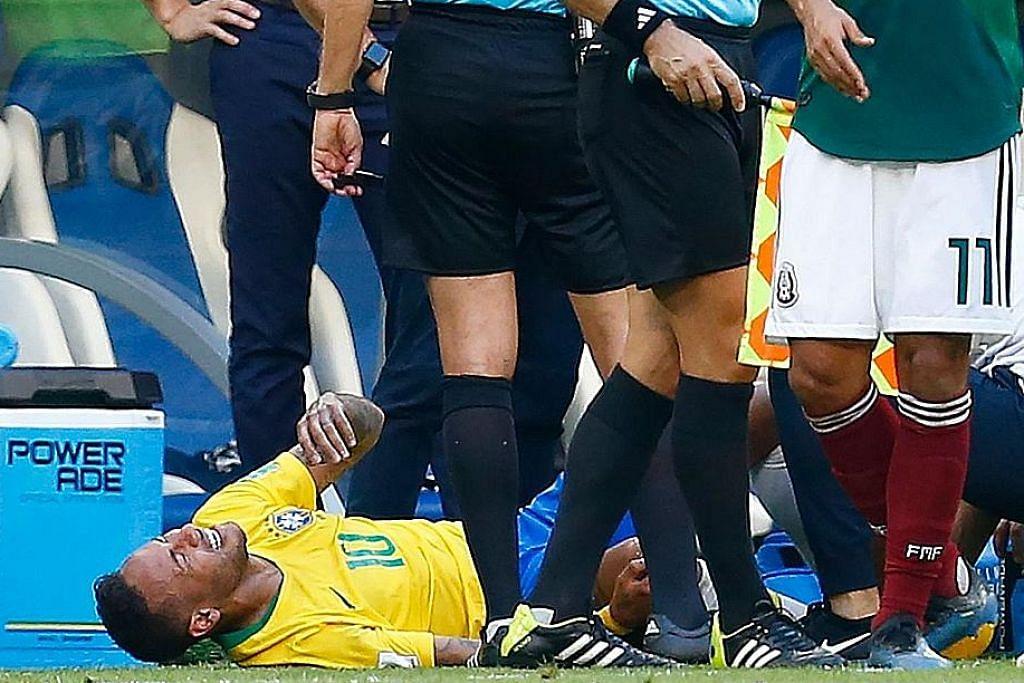 'Jatuh bangun' Neymar... Apa kata penyokongnya