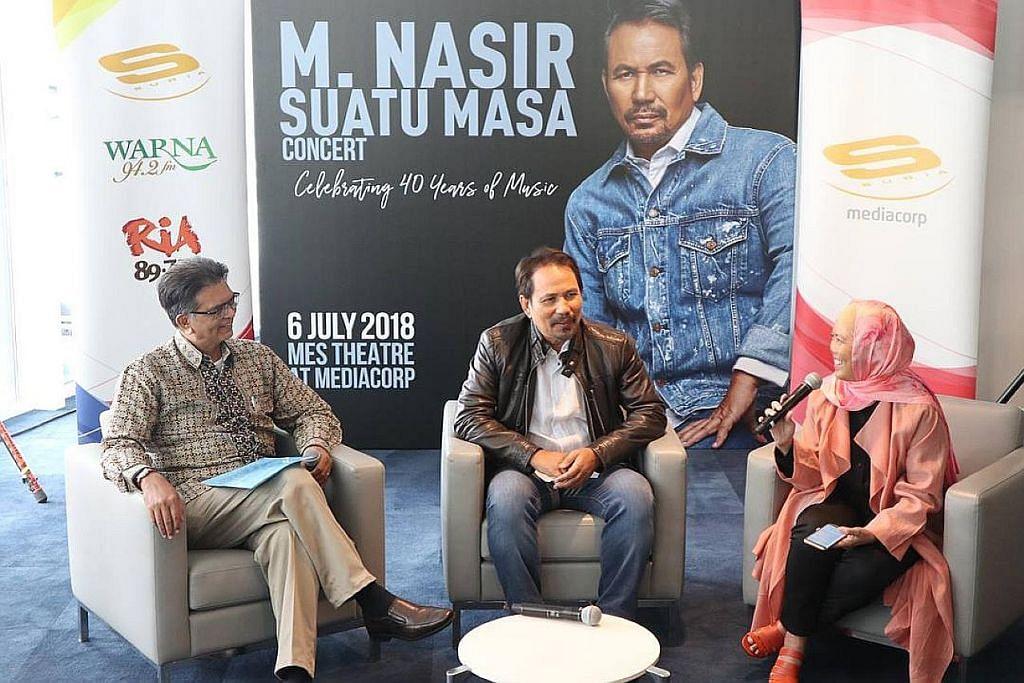 $200,000 yang dikumpul sempena konsert M. Nasir diderma kepada ETF
