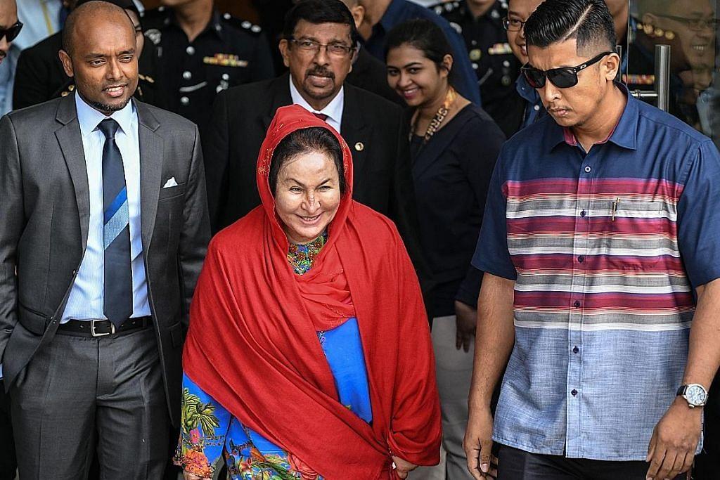 Pedagang barang kemas Lebanon saman Rosmah