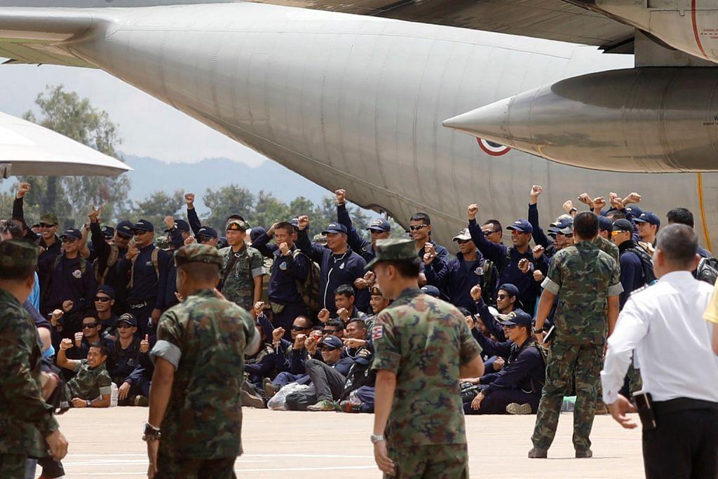 Warga S'pura antara terlibat dalam misi menyelamat di gua Thai