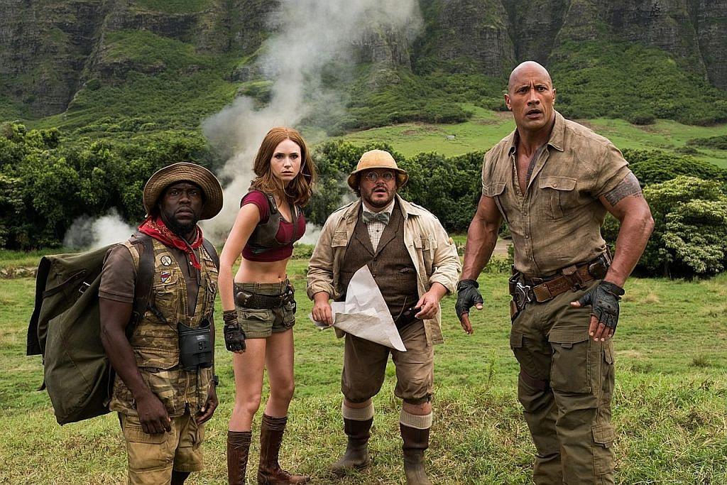 DWAYNE JOHNSON: Sekuel filem 'Jumanji' sedang disiapkan