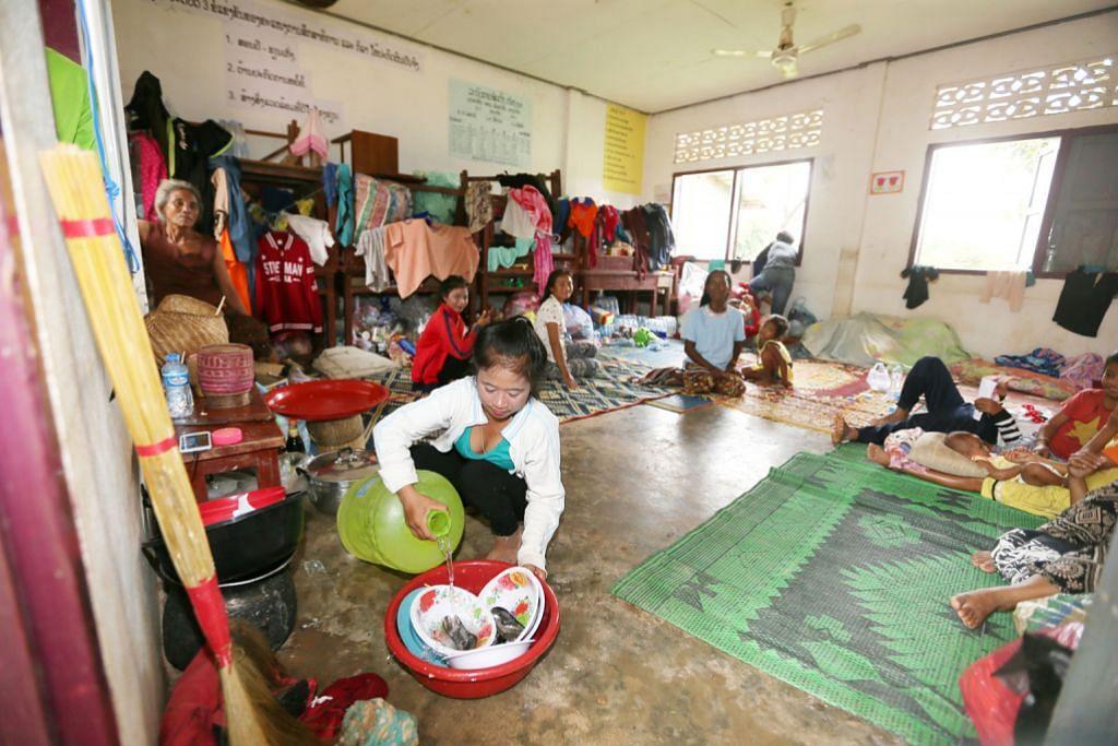 Syarikat S'pura selesai hulur bantuan kepada mangsa empangan runtuh di Laos