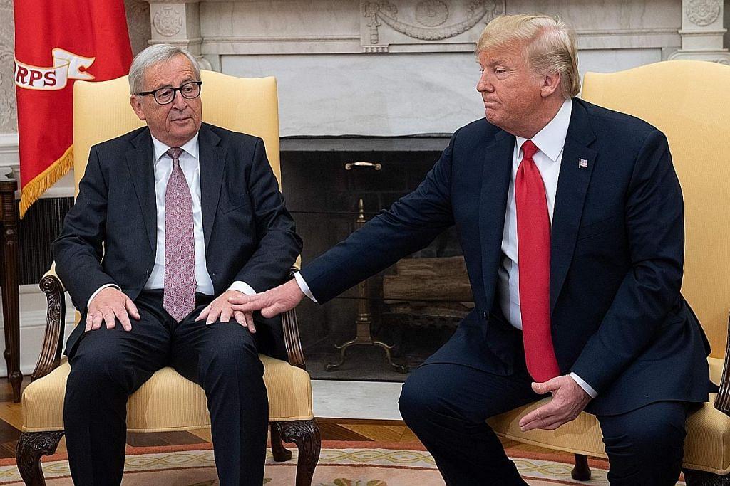 Gencatan perang dagang Amerika-EU hanya sementara?