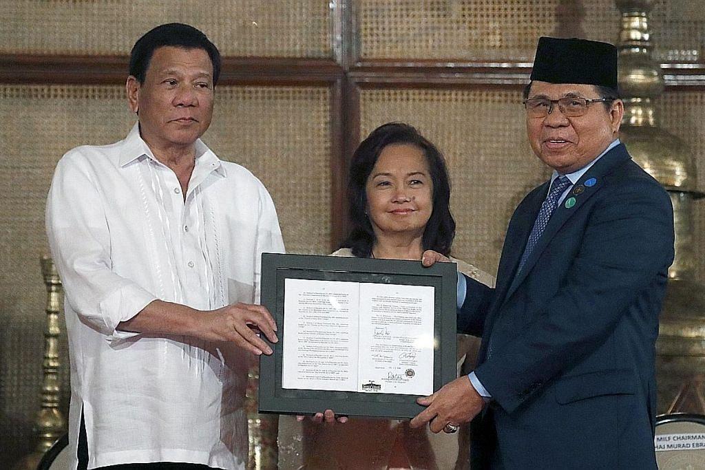 Duterte rasmi undang-undang beri autonomi pada Muslim di selatan Filipina