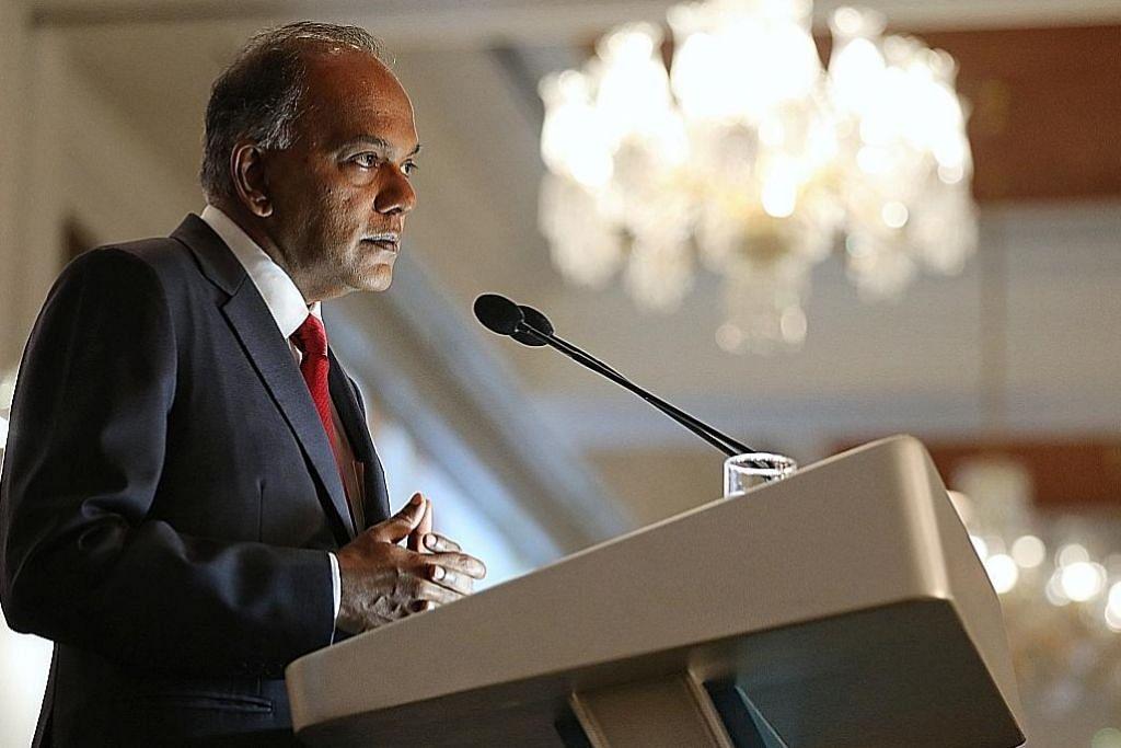 Shanmugam: Asean harus waspada, sedia tangani bencana bersama