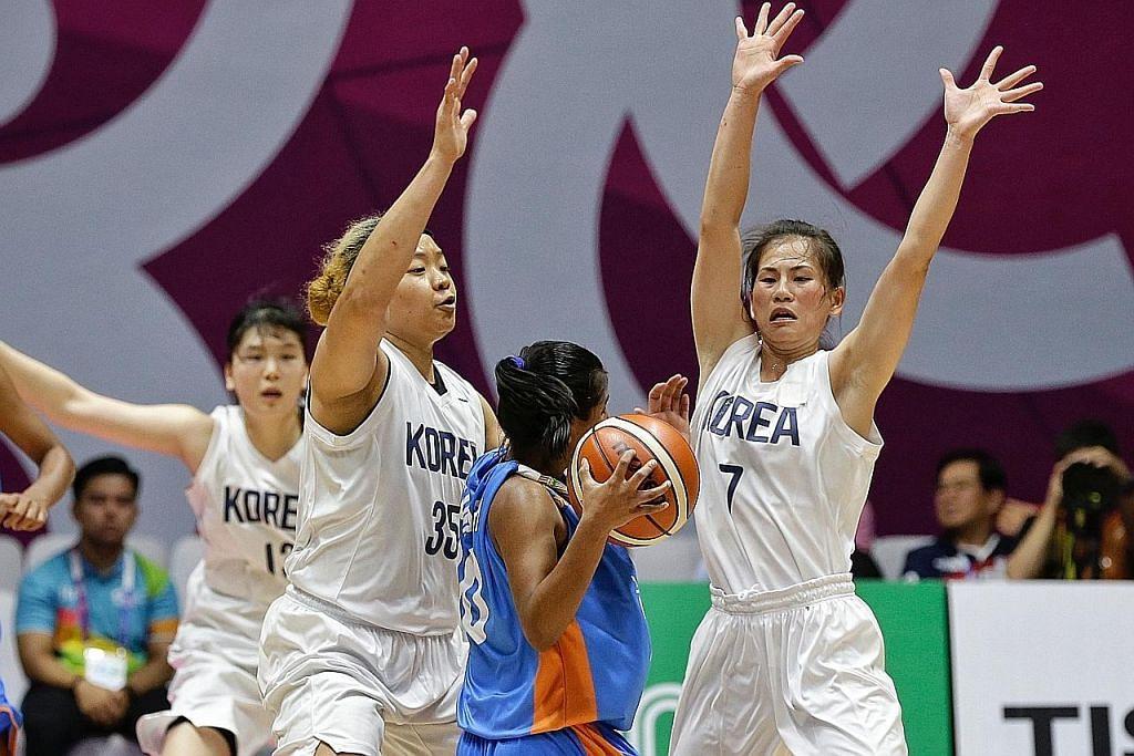 Dua Korea bersatu di gelanggang