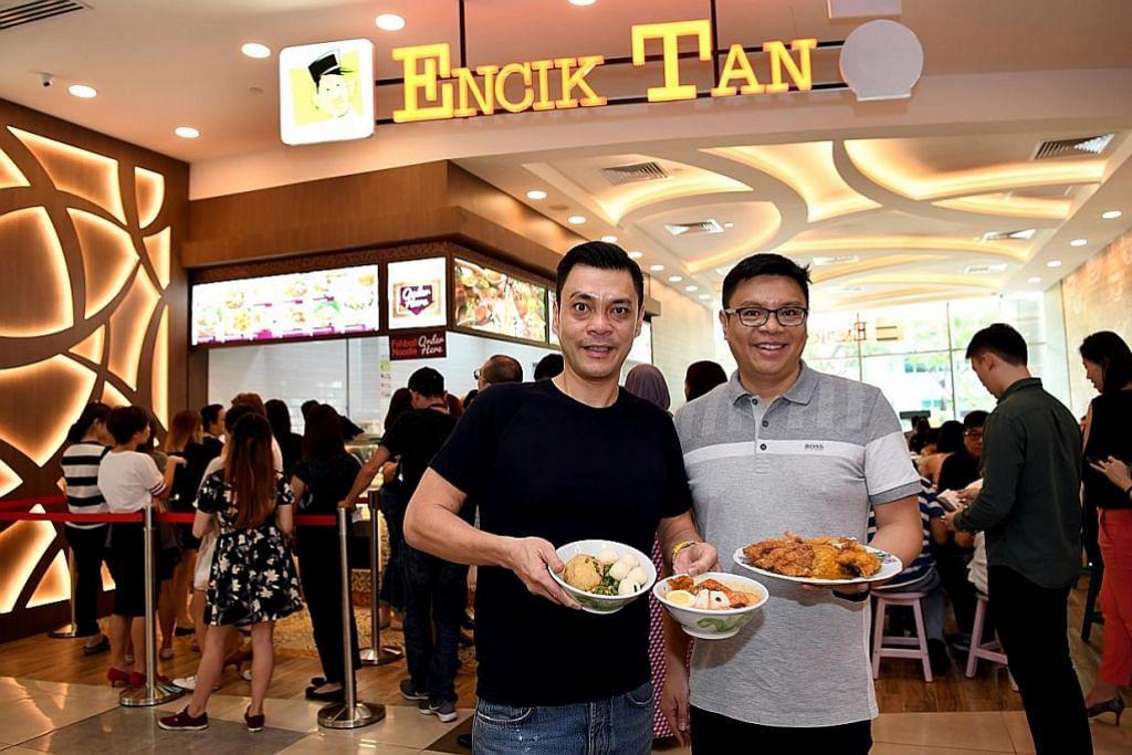 Tarikan sajian harian Encik Tan