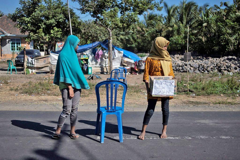 Usaha kerah bantuan kepada mangsa gempa di Lombok diteruskan