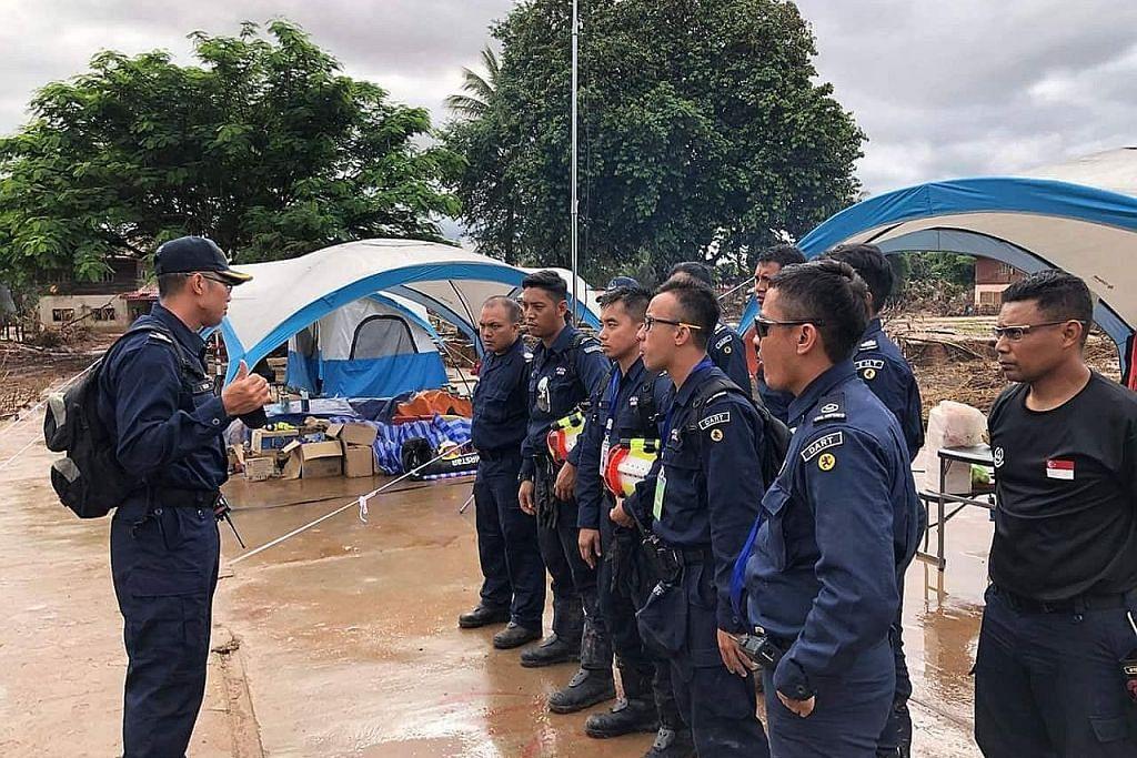 Cabaran pasukan SCDF dalam misi bantuan di Laos
