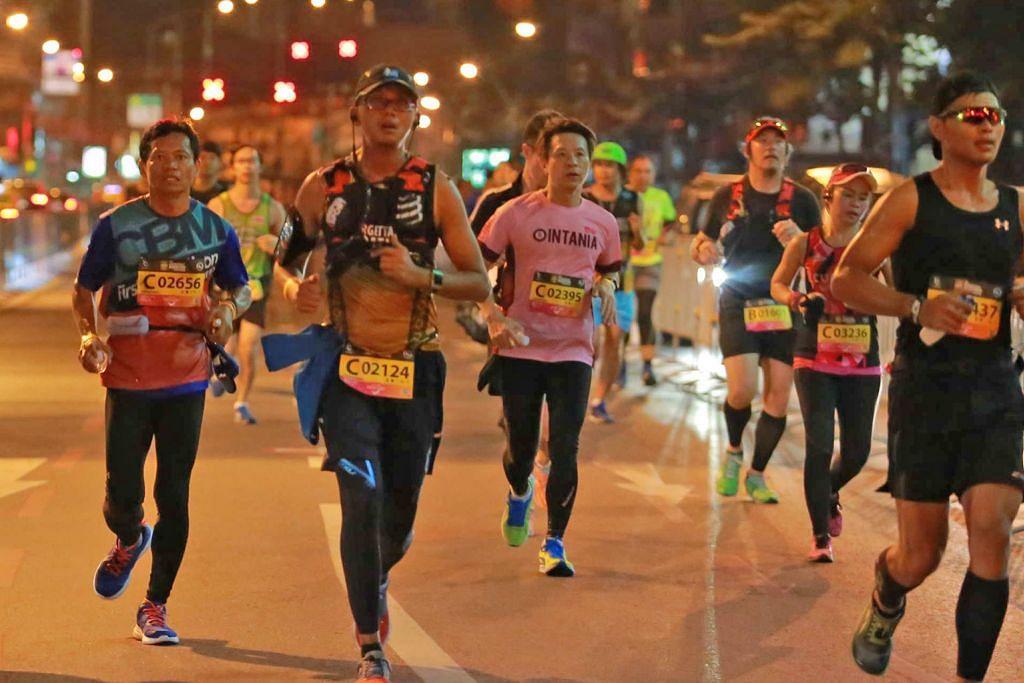 Sertai larian maraton selepas terap gaya hidup sihat