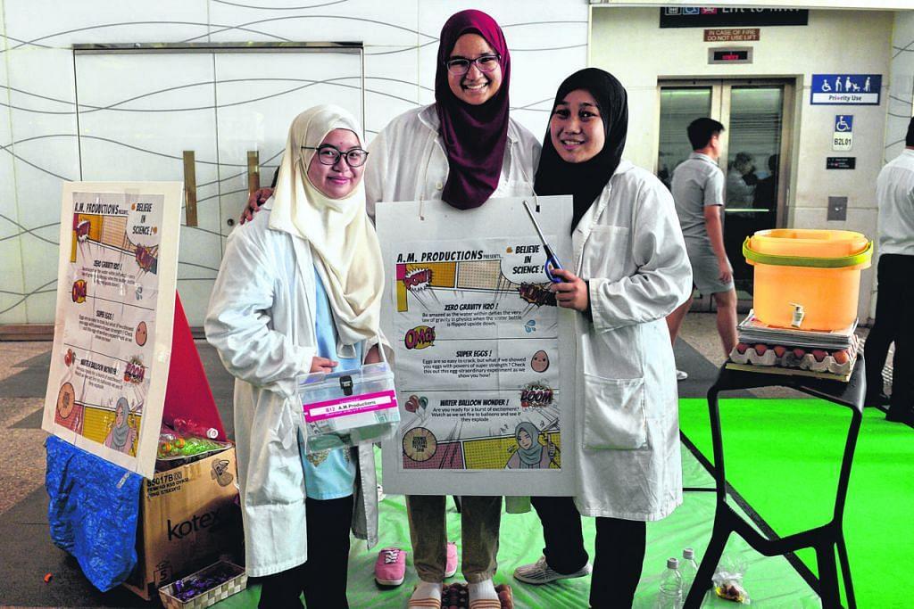 Pelajar madrasah pamer 'ilmu telur' dalam festival sains