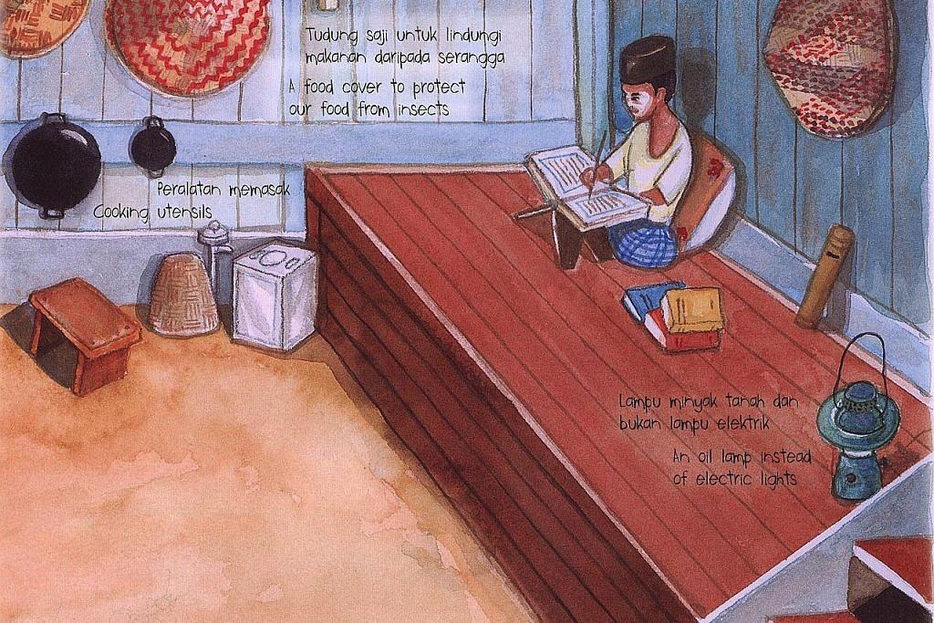 Buku imbas kenangan hidup di kampung