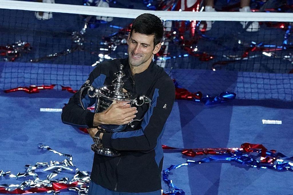 Djokovic samai rekod Sampras juarai Grand Slam ke-14