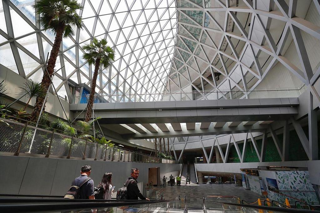 Jewel Changi Airport 90 peratus hampir selesai