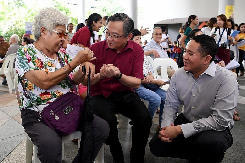 MOH, Temasek sedia subsidi periksa kesihatan warga emas