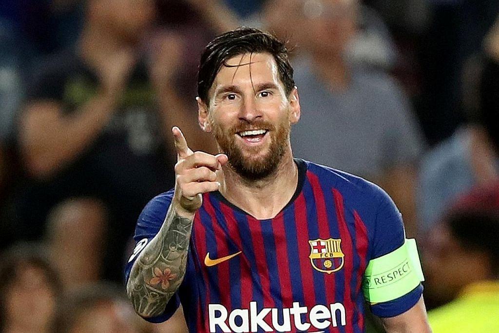 Messi bukti keunggulan melalui jaringan hatrik