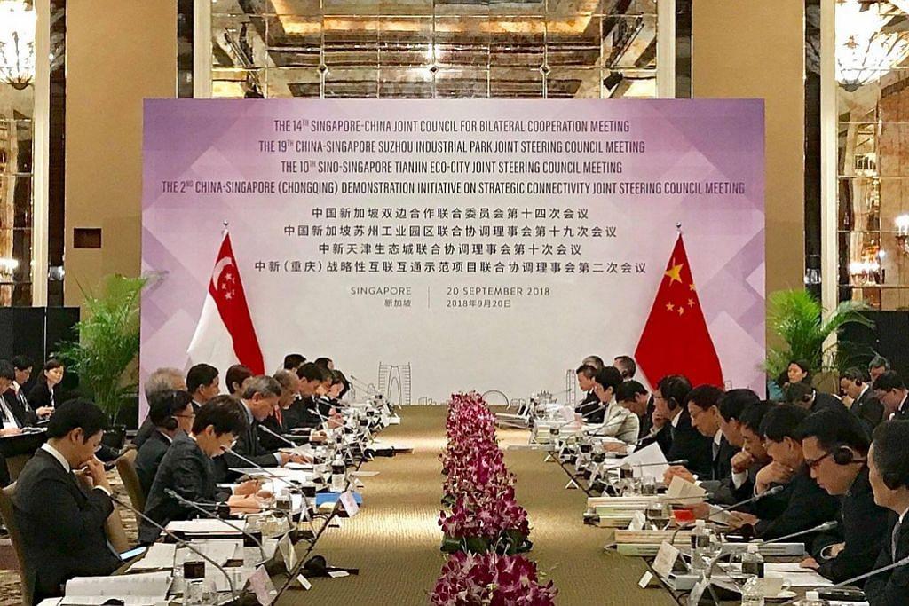 Masagos: Banyak ruang S'pura, China bekerjasama dalam bidang sekitaran
