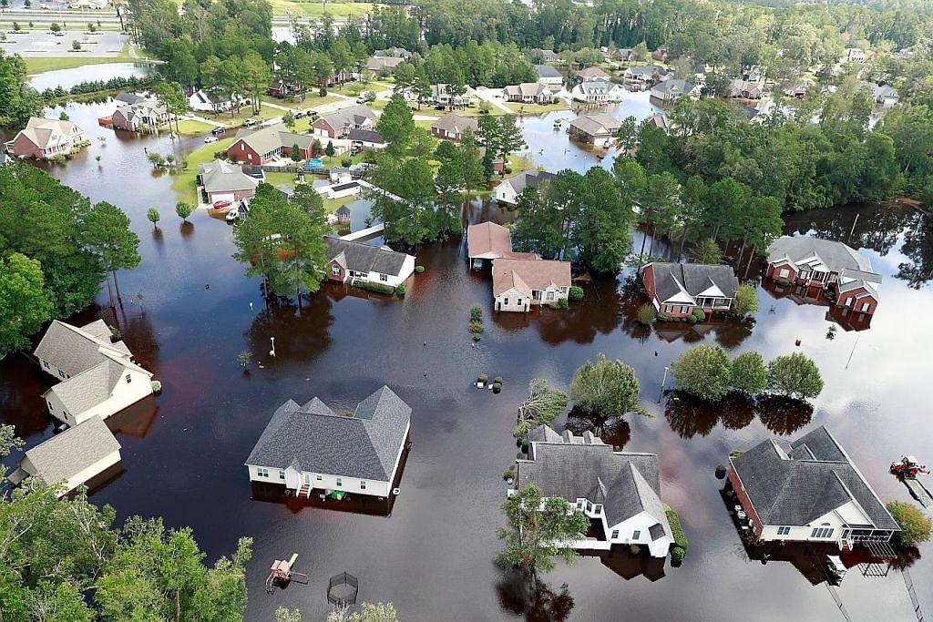 Florence cetus ancaman banjir besar di Amerika