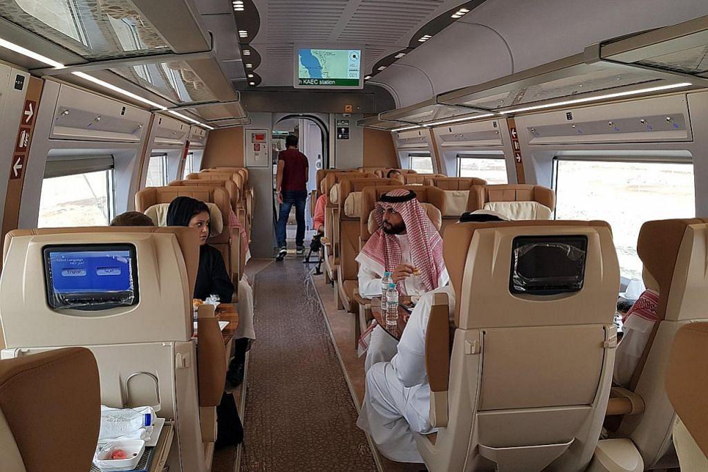 Kereta api laju Saudi Haramain mula operasi