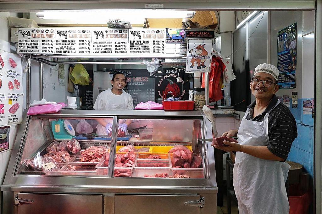 Penjual daging mahu terus berniaga selagi ada tempat