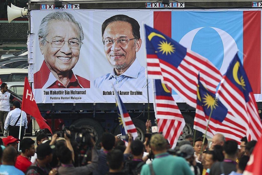 Mahathir akan turun padang untuk berkempen bersama Anwar