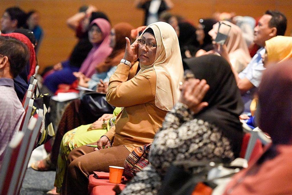 Seminar peluang timba ilmu jaga kesihatan
