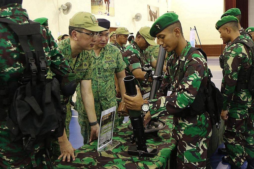 Perkukuh hubungan pertahanan S'pura-Indonesia
