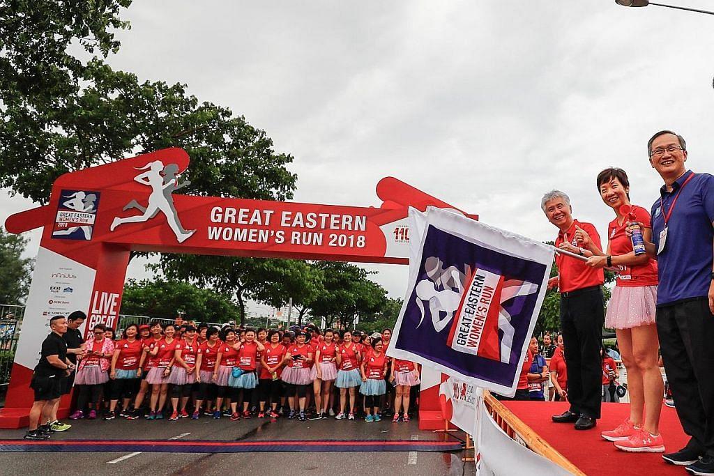 Lebih 14,500 wanita sertai larian Great Eastern