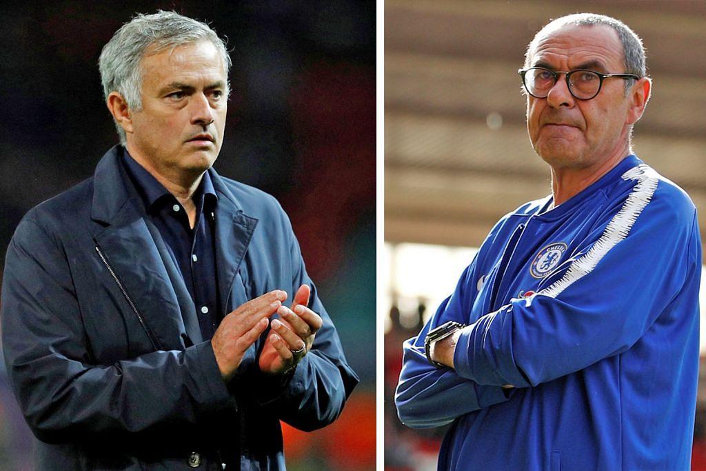 LIGA PERDANA ENGLAND Antara Mourinho dan Sarri, kisah dua jurulatih berbeza