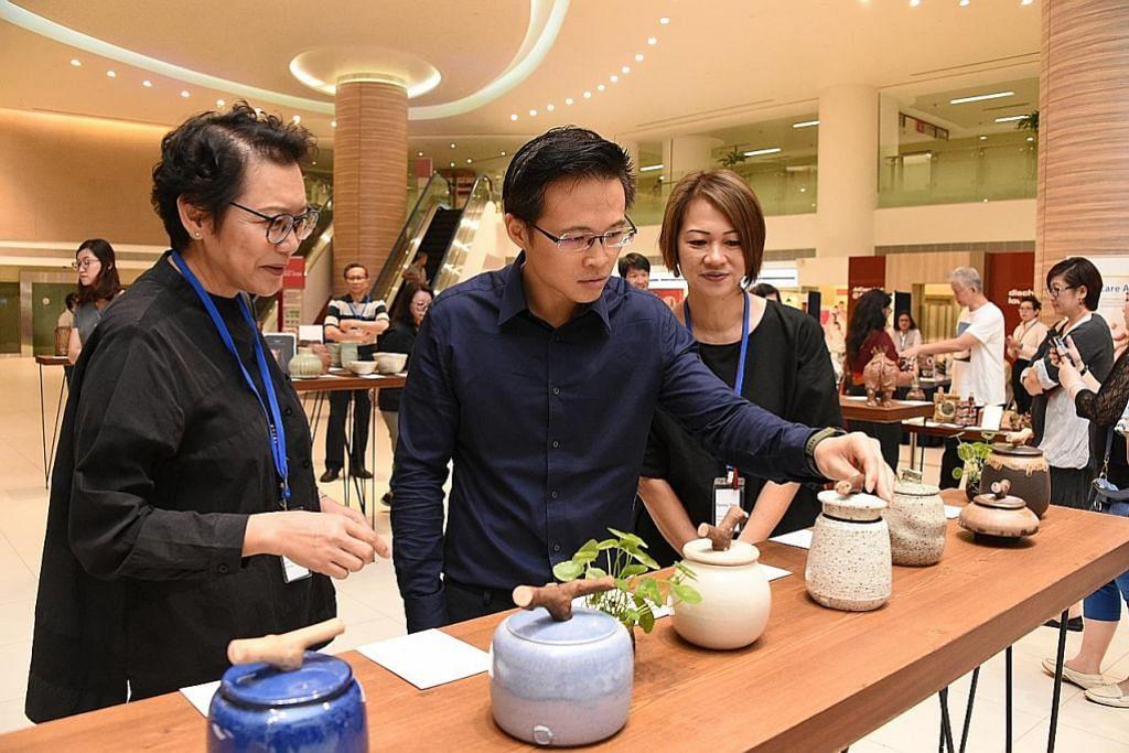 Pameran, jualan amal tembikar bagi bantu pesakit CGH