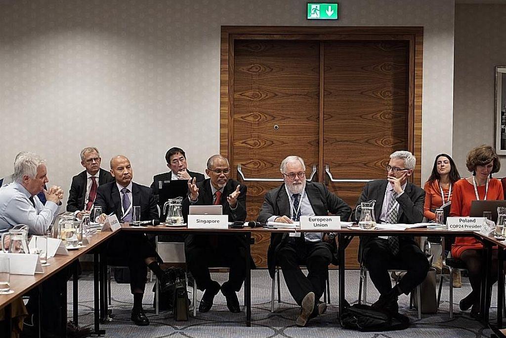 Masagos bangga SG dapat sumbang sidang iklim