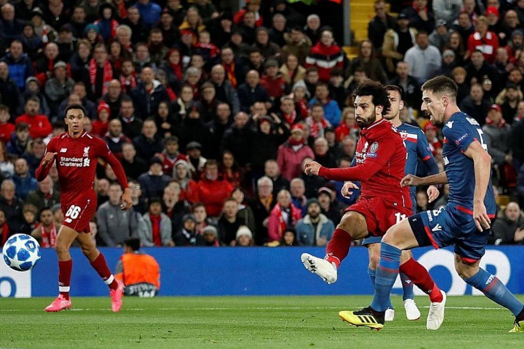 Salah jaring dua gol bantu Liverpool benam Red Star
