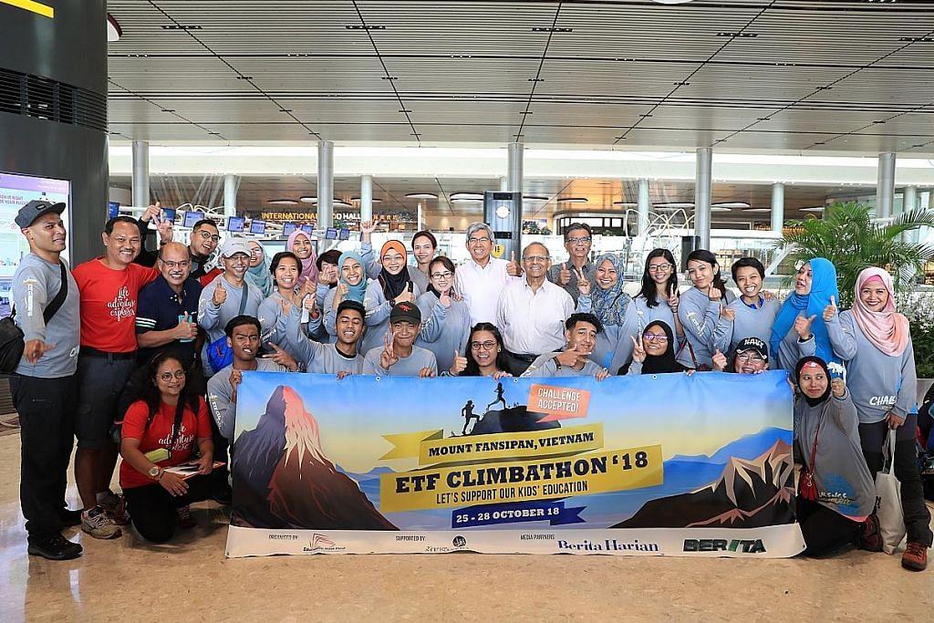 40 peserta ikut daki Gunung Fansipan
