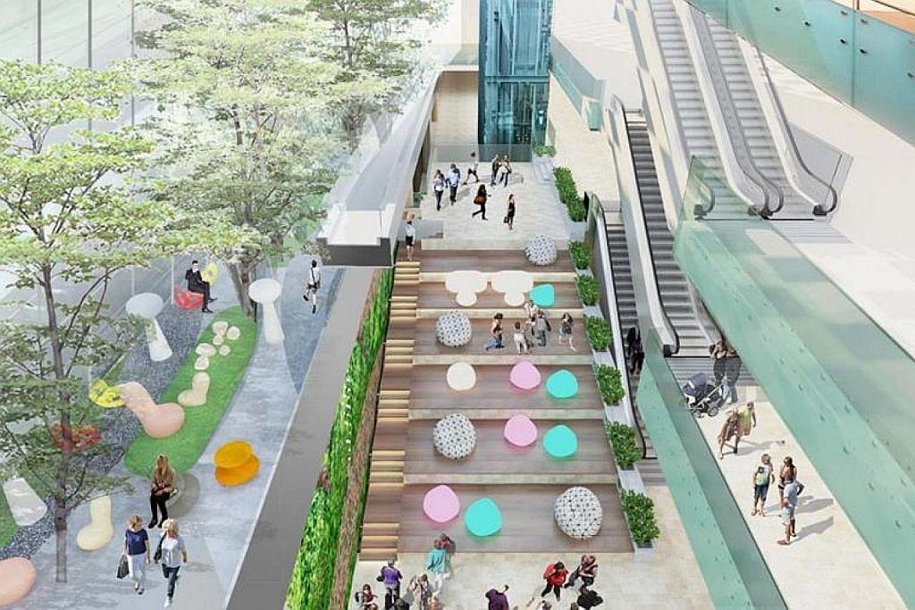 Ruang riadah baru bakal dibina di Terminal 3 Changi