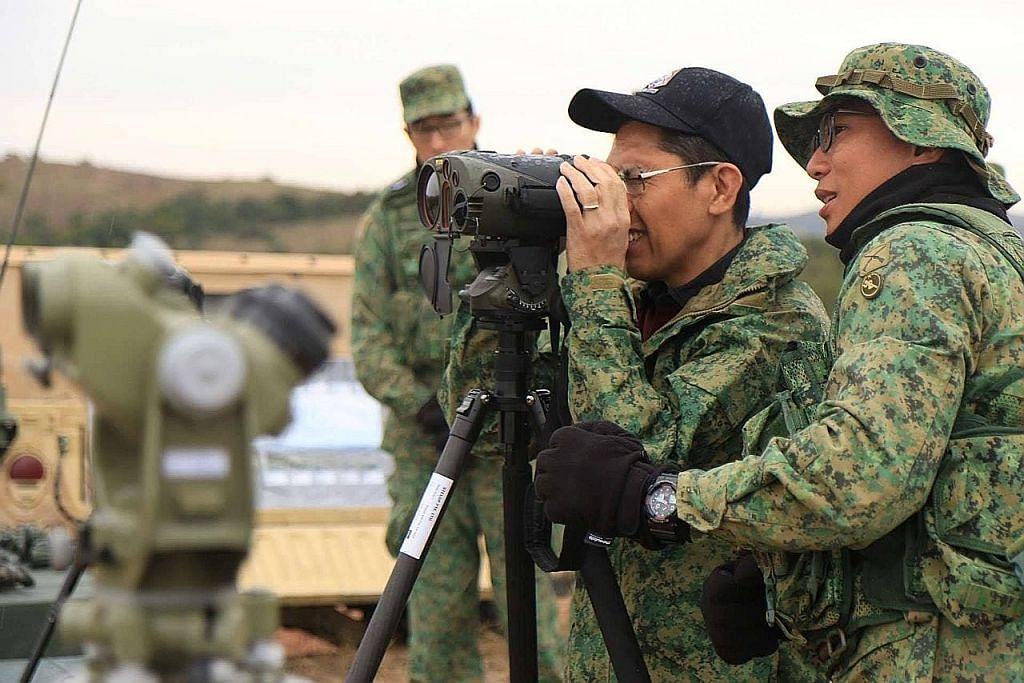 Maliki saksi 'Latihan Daring Warrior' di AS
