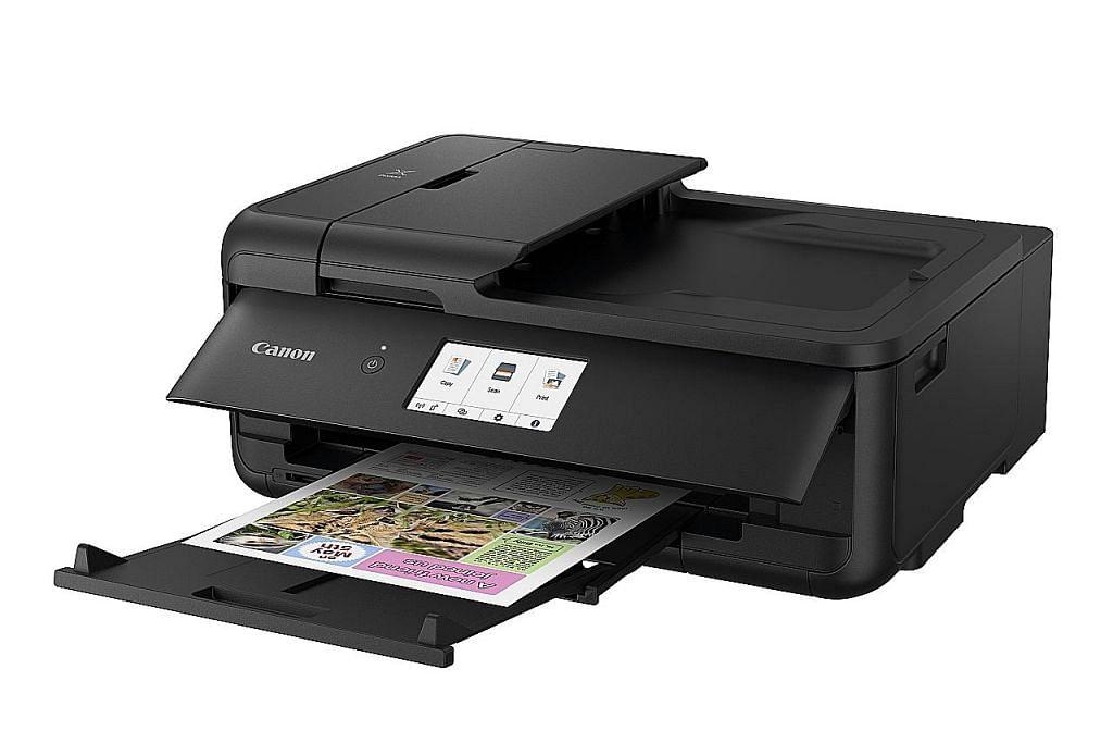 Pencetak semua dalam satu sajikan fungsi kreatif