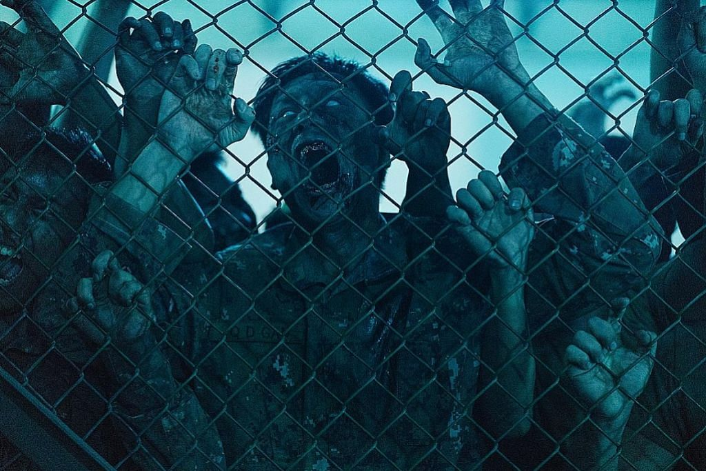 Apabila 'zombie' kuasai pangkalan tentera...