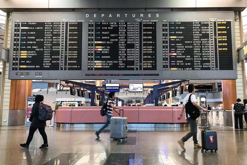 Changi siap tambah penerbangan dalam musim cuti