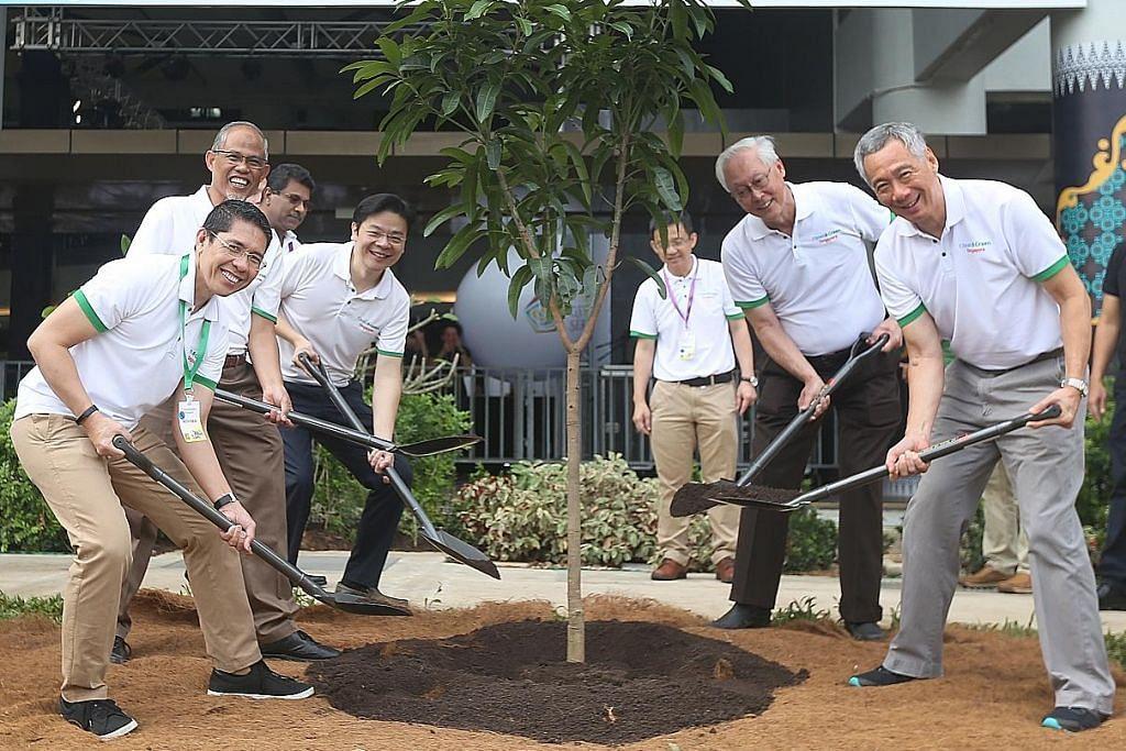 PM Lee seru lebihkan usaha tangani isu perubahan iklim demi keselesaan masa depan