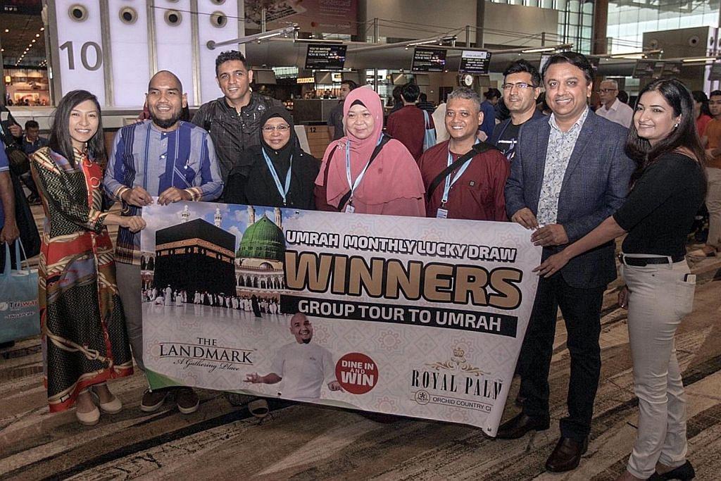 Pemenang umrah Restoran The Landmark beri adik peluang ke Tanah Suci