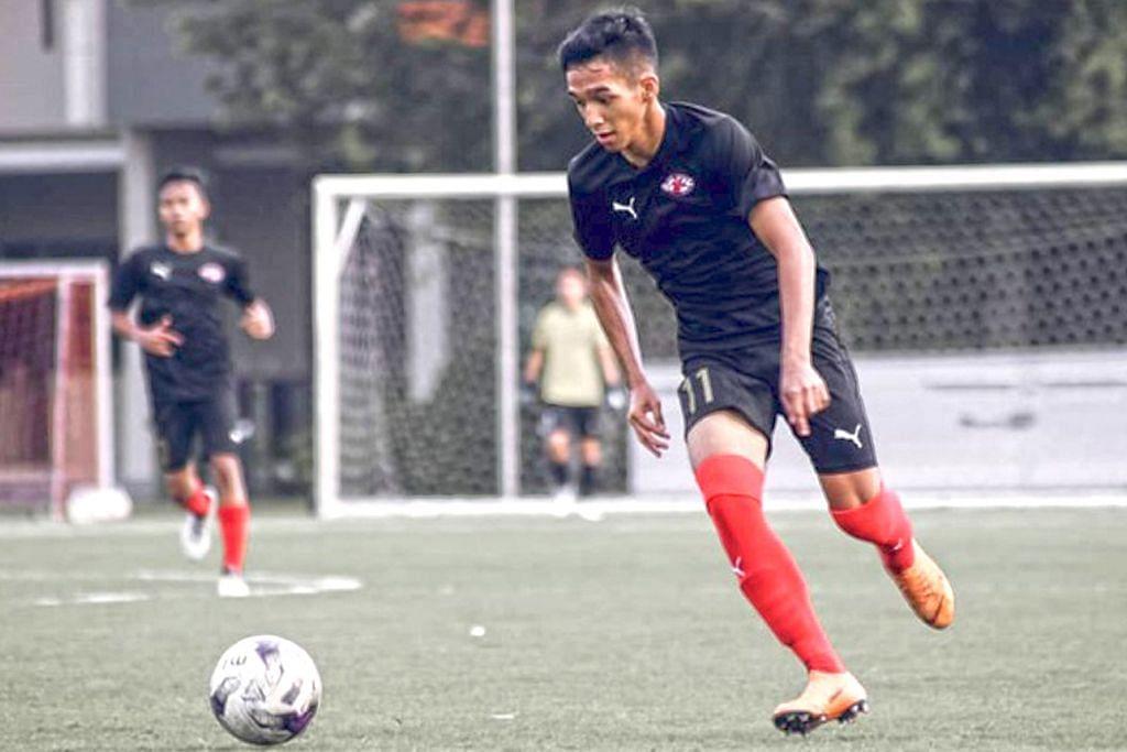 Pelajar manfaatkan DSA dengan bakat dalam bola sepak