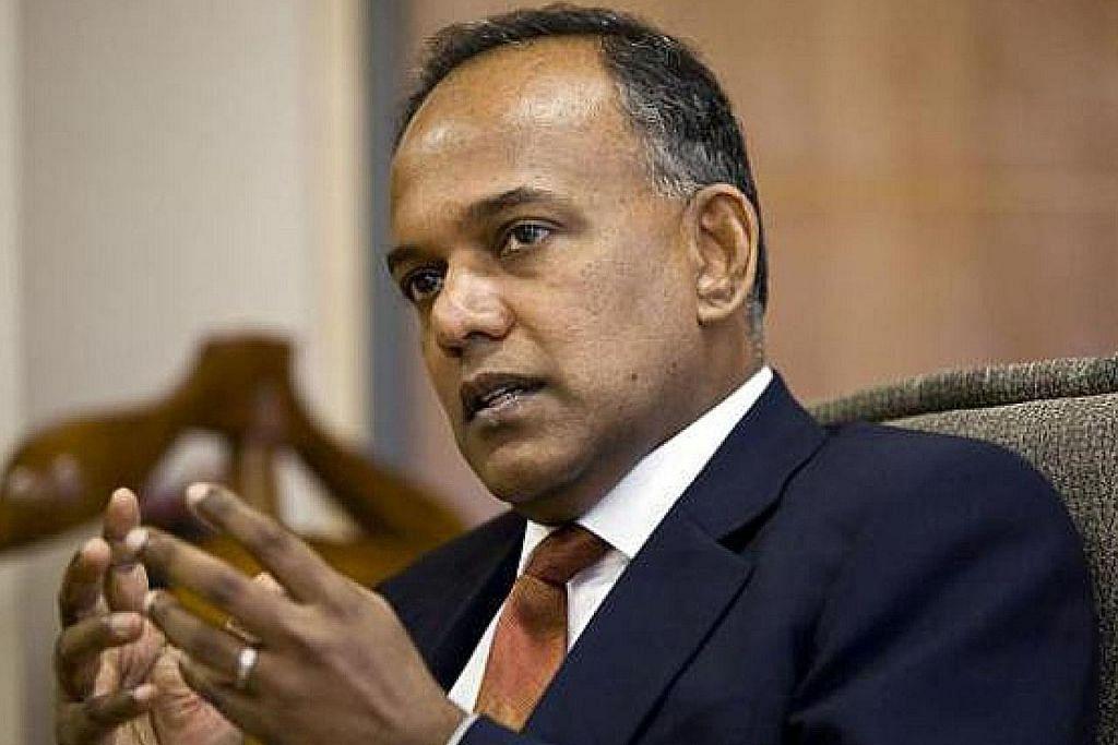 KES LAPORAN DALAM TALIAN PALSU MENGENAI PM LEE Shanmugam: Polis akan ambil tindakan terhadap pihak terlibat