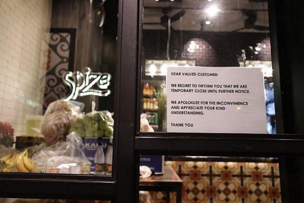 Restoran Spize kerjasama dengan MOH, NEA kenal pasti punca pelanggan jatuh sakit
