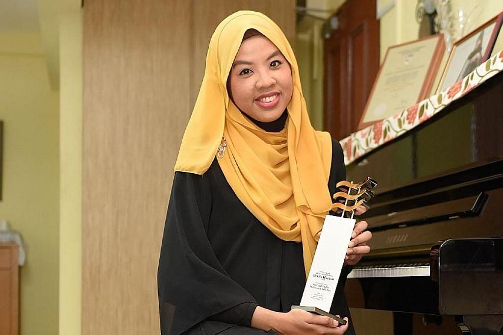Anak seni bersemangat gemakan muzik tradisional Melayu