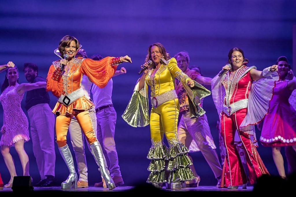 'Mamma Mia!' warnai hidup pelakon teater mapan
